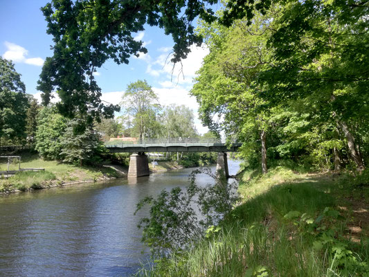 Hubertusbrücke über den Prinz Friedrich Leopold Kanal