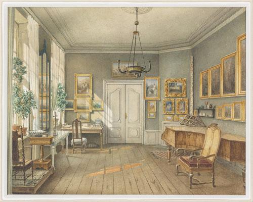 Das Musikzimmer Fanny Hensels im Palais an der Leipziger Strasse