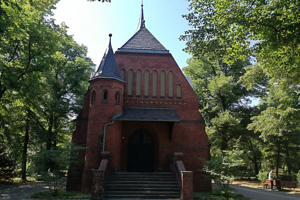 Kapelle - Waldfriedhof Oberschöneweide