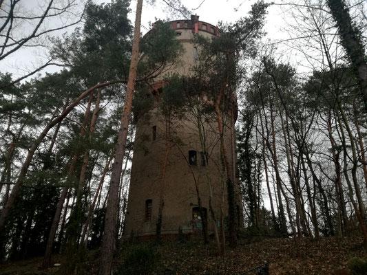 Wasserturm Friedhof Hermsdorf