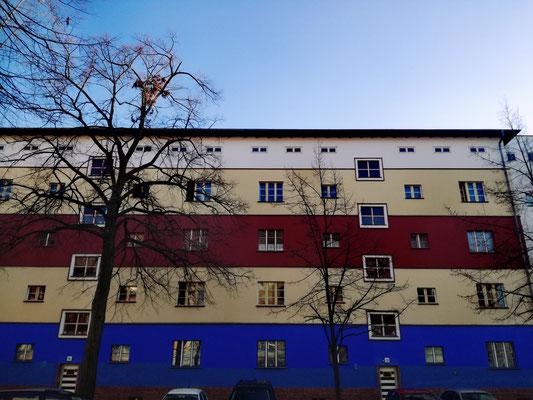 Papageienhaus von Bruno Taut - Berlin Weißensee