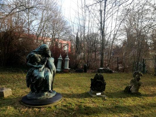 Lapidarium im Museum Reinickendorf