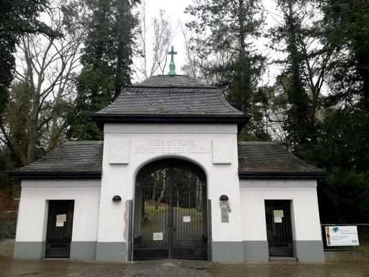 Torgebäude Friedhof Hermsdorf