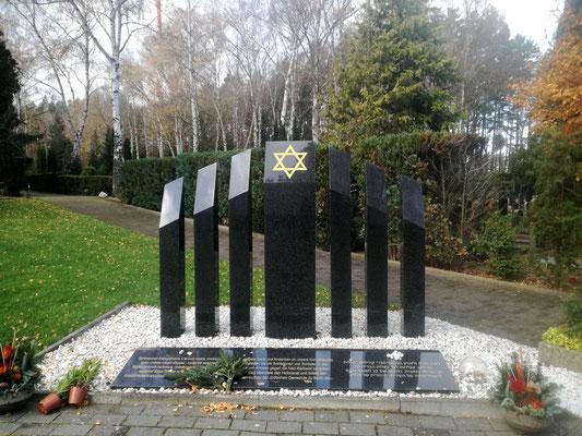 Ehrenmal der in den Armeen der Alliierten kämpfenden Soldatinnen und Soldaten jüdischen Glaubens auf dem Jüdischen Friedhof Berlin Charlottenburg