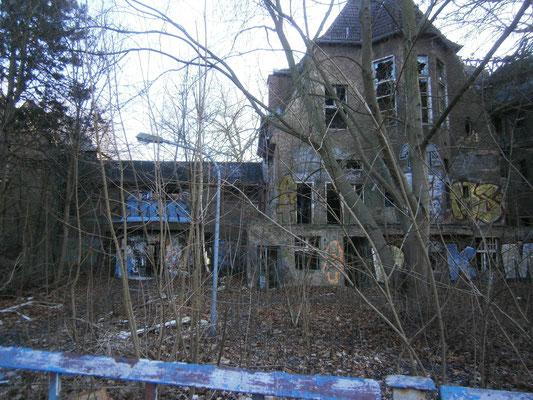 Ruine ehemaliges KInderkrankenhaus - Boonekamp, CC BY-SA 4.0 -@Wikimedia Commons