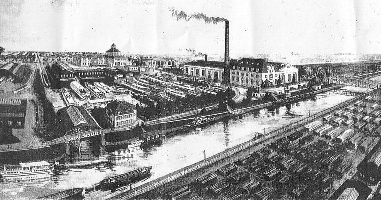 Teltowwerft - historische Aufnahme
