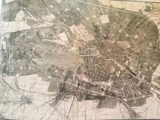 Blick ins Buch - Hobrechtplan von 1862