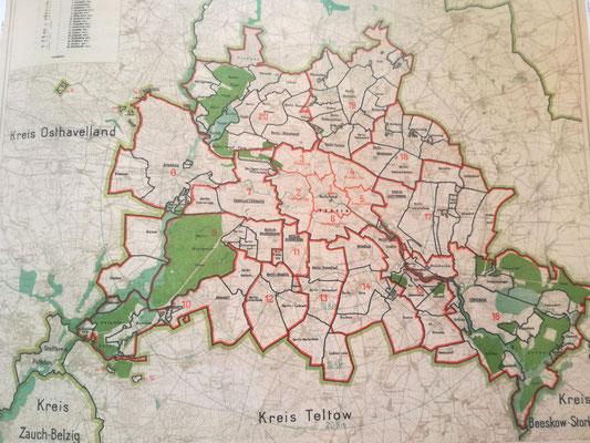 Blick ins Buch - Groß Berlin nach der Gebietsreform