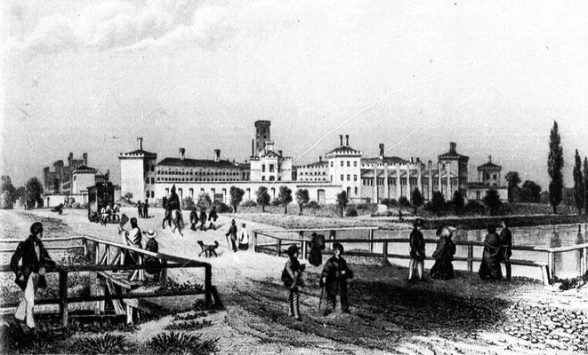 Stich von 1855 - @Foltz nach einer Zeichnung von Borchel [Public domain] - WikiCommons