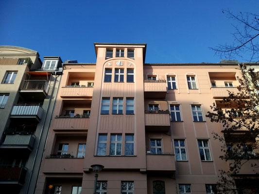 Gründerzeitarchitektur Meyerbeerstraße - Berlin Weißensee