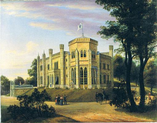 Schloss Babelsberg 1838 - Carl Daniel Freydanck -  @WikiCommons - Public domain