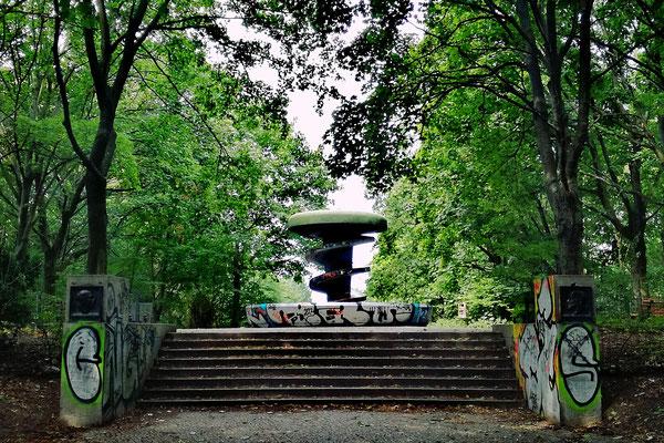 Rathenaudenkmal Volkspark Rehberge