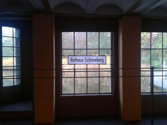 U-Bahn Station Rathaus Schöneberg