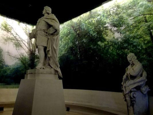 König Friedrich I. und Eberhard Freiherr von Danckelmann
