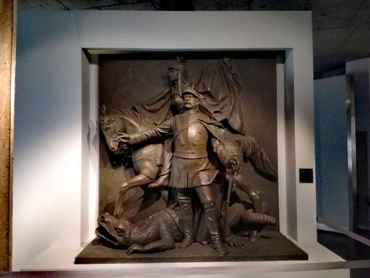 Bismarck setzt Germania aufs Pferd