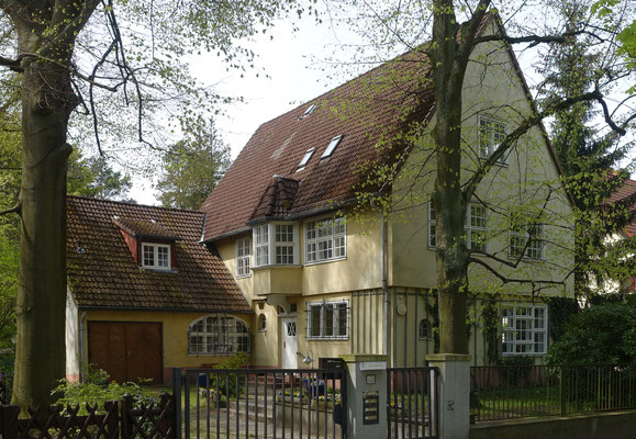 Villa Markgrafenstrasse - @Bodo Kubrak / CC BY-SA - WikiCommons