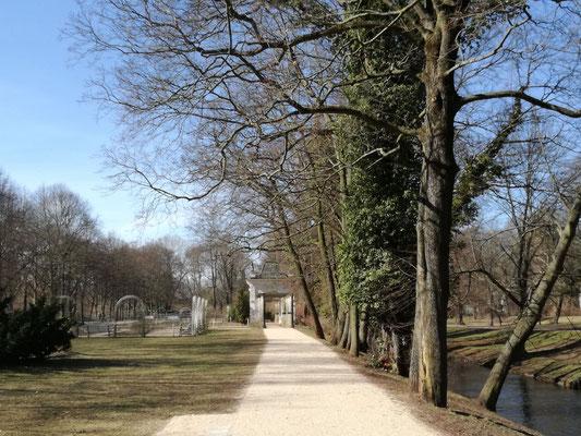 Die Panke im Bürgerpark Pankow