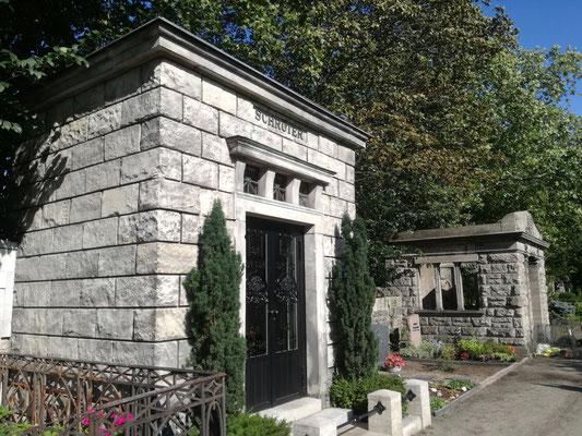 Erbbegräbnis Schröter auf dem Friedhof Grunewald