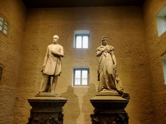 Denkmäler Friedrich Wilhlem III. und Königin Luise