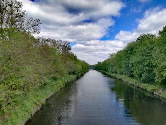 Blick auf den Kanal in Lichterfelde