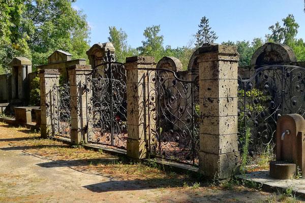 Erbbegräbnis Temmler - Waldfriedhof Oberschöneweide
