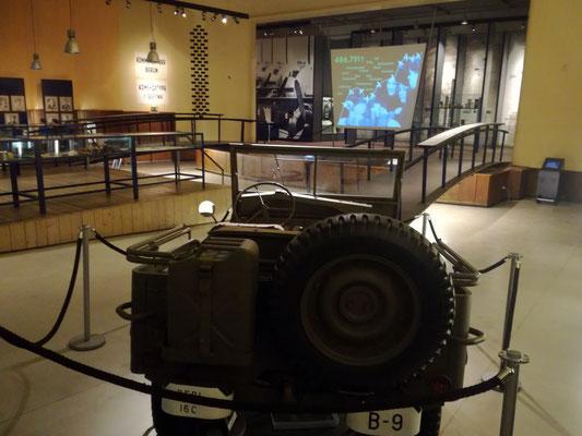 Blick in die Ausstellung im Alliiertenmuseum