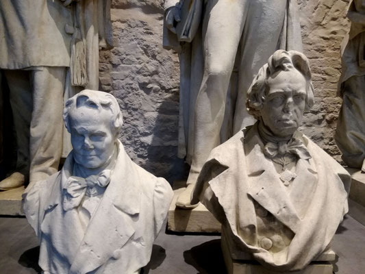 Alexander von Humboldt und Christian Daniel Rauch