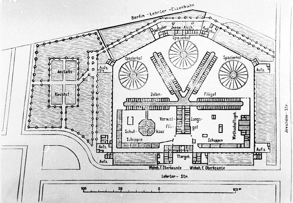 Lageplan 1896 - @unbekannt – Public domain - WikiCommons