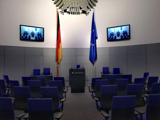 Miniatur Plenarsaal im Deutschen Dom