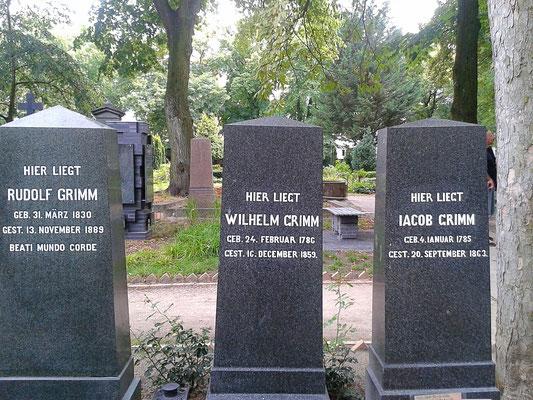 Grabstätte Gebrüder Grimm - Alter-St.-Matthäus-Kirchhof - Berlin Schöneberg