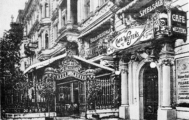 Historische Aufnahme Kurfürstendamm - Autor unbekannt - Public Domain @Wikimedia Commons