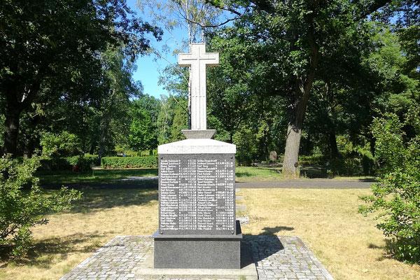 Kriegerdenkmal - Waldfriedhof Oberschöneweide