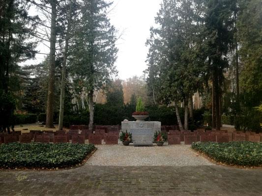 Mahnmal für die jüdischen Opfer des NS-Regimes auf dem Jüdischen Friedhof Berlin Charlottenburg