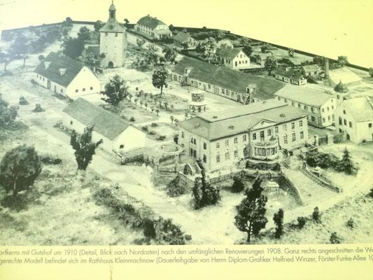 Historischer Aufnahme der Alten Hakeburg