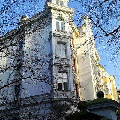 Hausfront in Friedenau - Berlin Schöneberg