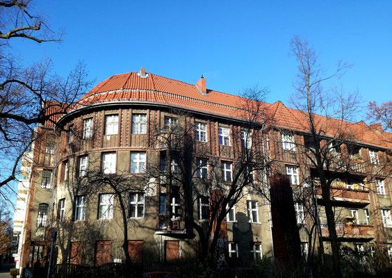 Ehemaliges Beamtenhaus - Pistoriusplatz - Berlin Weißensee