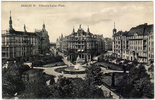 Viktoria-Luise-Platz - historische Aufnahme
