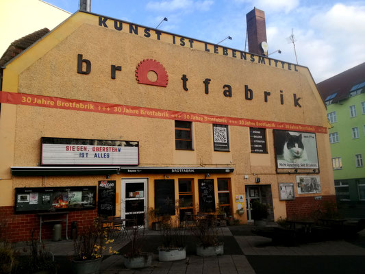 Brotfabrik Caligariplatz - Berlin Weißensee