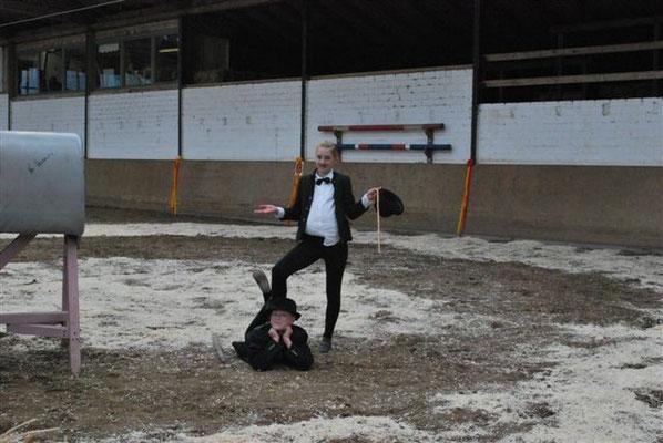 Anna Torner und Anika Schock aus dem Ritterhuder M**Team