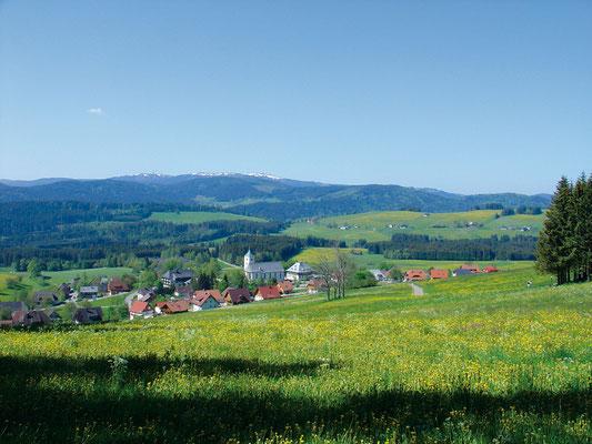Blick auf Breitnau © Hochschwarzwald Tourismus GmbH