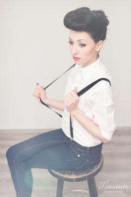 Haare & Make up: Angelique Striebl | Model: Claudi | Fotodesignerin: Jennifer Baskan