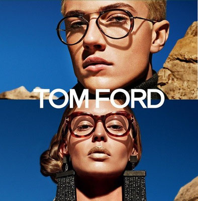 Tom Ford James Bond Brille Horn Optik