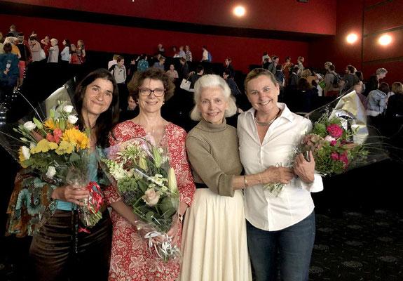 Sonia Djaoui, Lydie Driviere, Ambika Berthias et Rosana Marcis - evenement Via Energetica