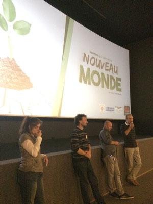 Film Nouveau Monde, d'Yann Richet à Tours - ciné-débat CGR et Via Energetica, annuaire du bien-être en Touraine