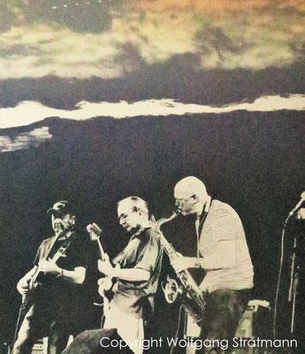 Wolfgang Stratmann - PB Blues Band (Siebdruck 2017)