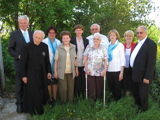 Ehrung der Gründungsfrauen anlässlich 50 Jahre kfb-Palterndorf