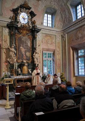 Messe im Schloss Clemenswerth