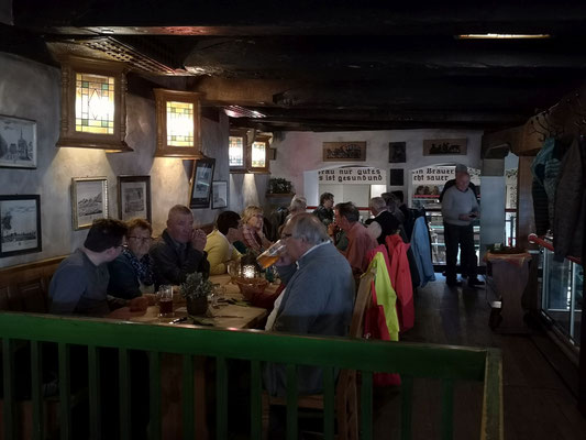 Osnabrück: beim Mittagessen