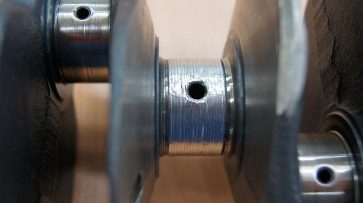 Laserschweißen Kurbelwelle Präzision