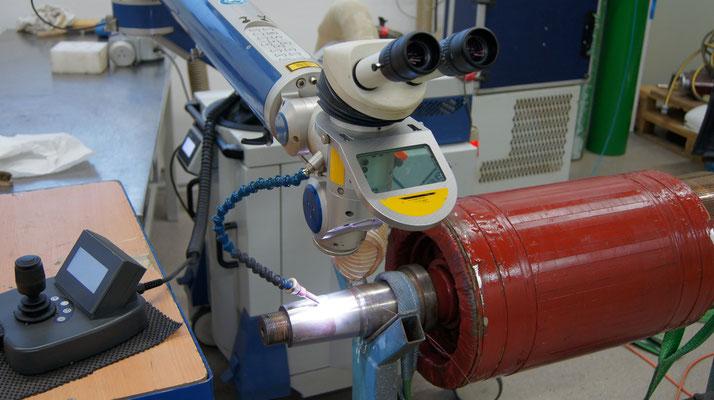 Laserschweißen Elektromotor